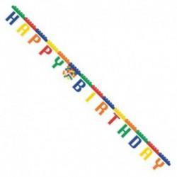 Festone Happy Birthday 260 cm