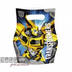 6 Loot Bags Transformers