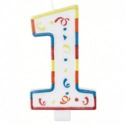 Candela Numero 1 Big 13 cm