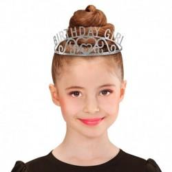 Corona Tiara Metallo Birthday Girl