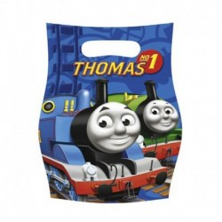 6 Loot Bags Trenino Thomas