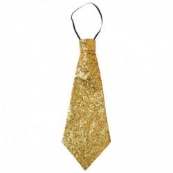 Cravatta Lurex Oro