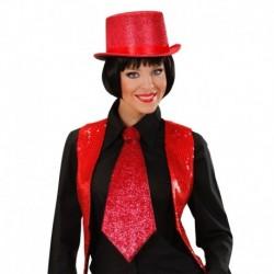 Cravatta Lurex Rossa