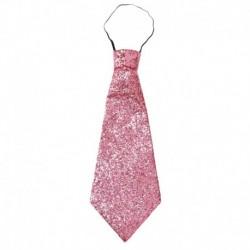 Cravatta Lurex Rosa