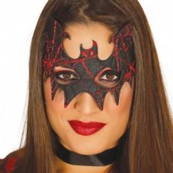 Maschera Tessuto Pipistrello Nero