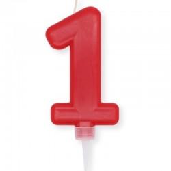 Candela Plump Rossa Numero 1