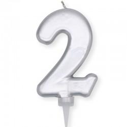 Candela Plump Argento Numero 2