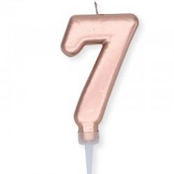 Candela Plump Rosa Gold Numero 7