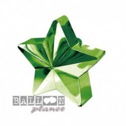 Peso Stella Verde 11x9 cm