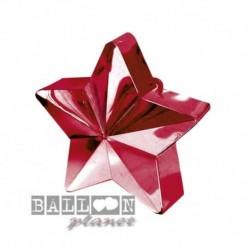 Peso Stella Rossa 11x9 cm