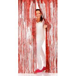 Fondale Tendina Rossa 200x100 cm