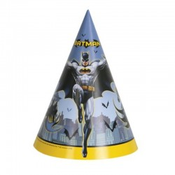 8 Cappellini Carta Batman 12x16 cm