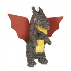 Pignatta Drago Alato 50x50 cm