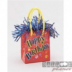 Pesetto Bag Happy Birthday 14x7 cm