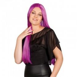 Parrucca Liscia Magenta