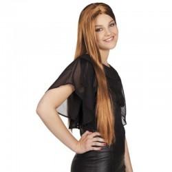 Parrucca Liscia Marrone
