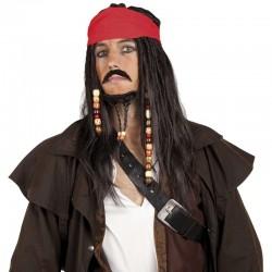 Parrucca Jack Pirata