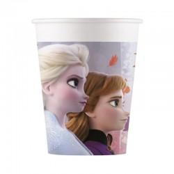 8 Bicchieri Carta Frozen 200 ml