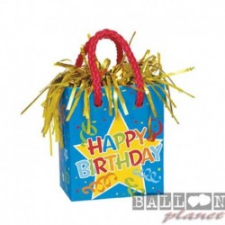Pesetto Bag Happy Birthday 14x7
