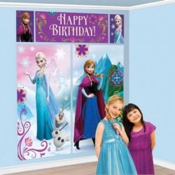Fondale Parete Frozen 190x165 cm