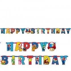 Festone Happy Birthday 190 cm