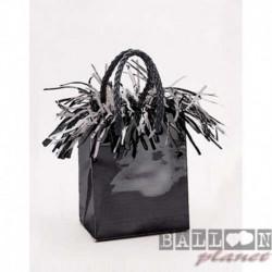 Pesetto Bag nero 14x7 cm