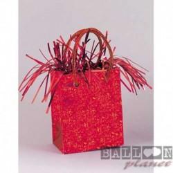 Pesetto Bag Rosso 14x7 cm