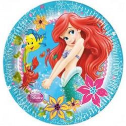 8 Piatti Tondi Carta Ariel 23 cm