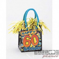 Pesetto Bag 60 TH Happy Birthday 14x7