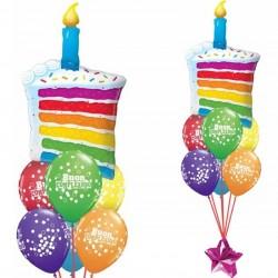 Composizione Torta Compleanno