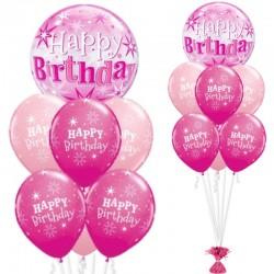 Composizione Bubble Happy B-Day