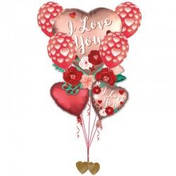 Composizione Bouquet Love