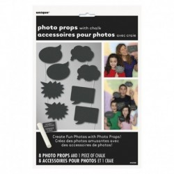 8 Photo Booth Fumetto Nero