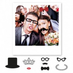 8 Photo Booth Matrimoni 20 cm