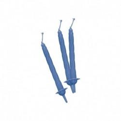 12 Candeline Azzurre 7 cm
