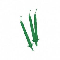 12 Candeline Verdi 7 cm