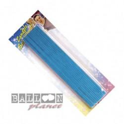 20 Candele Scintilline Azzurre 16 cm