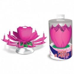 Fontana Fiore Musicale Rosa