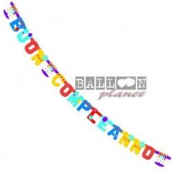 Festone Buon Compleanno 250 cm