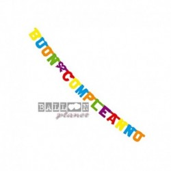 Festone Buon Compleanno 150 cm