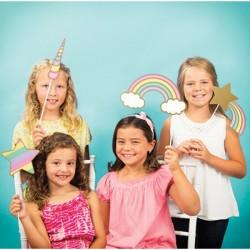 10 Photo Booth Unicorno Party