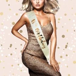 Fascia Miss 18 Anni