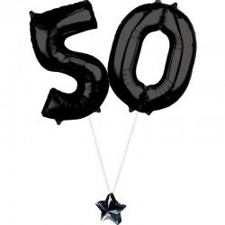 Composizione 50 Anni Nero