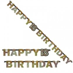 Festone Birthday 18 Anni 240 cm