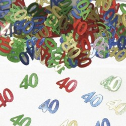 Confetti 40 Anni Color 14 gr
