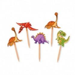 25 Picks Dinosauri 4x7 cm