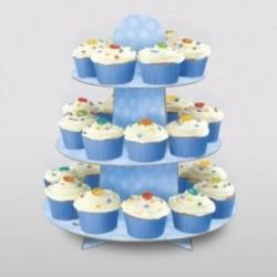 Porta Cup Cake Azzurro 30x35 cm