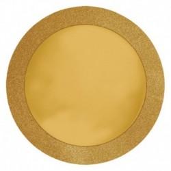 8 Sottopiatti Oro 36 cm