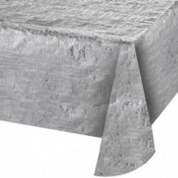 Tovaglia Metal Argento 137x254 cm