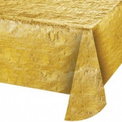 Tovaglia Metal Oro 137x254 cm